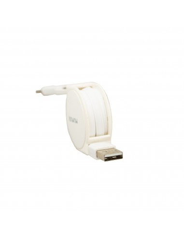 3 IN 1 RETRACTABLE USB CABLE (WHITE)